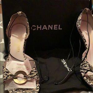 💯 Authentic Chanel Sandals
